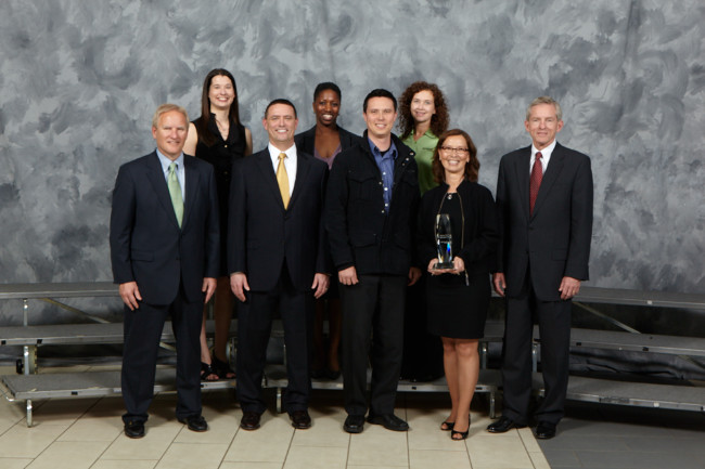 Minerva Accepts Rockwell Collins Supplier of the Year Award - Small Business